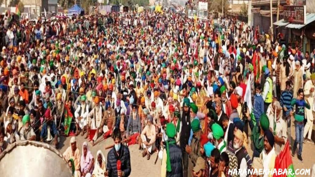 Kisan Andolan Farmer Protest