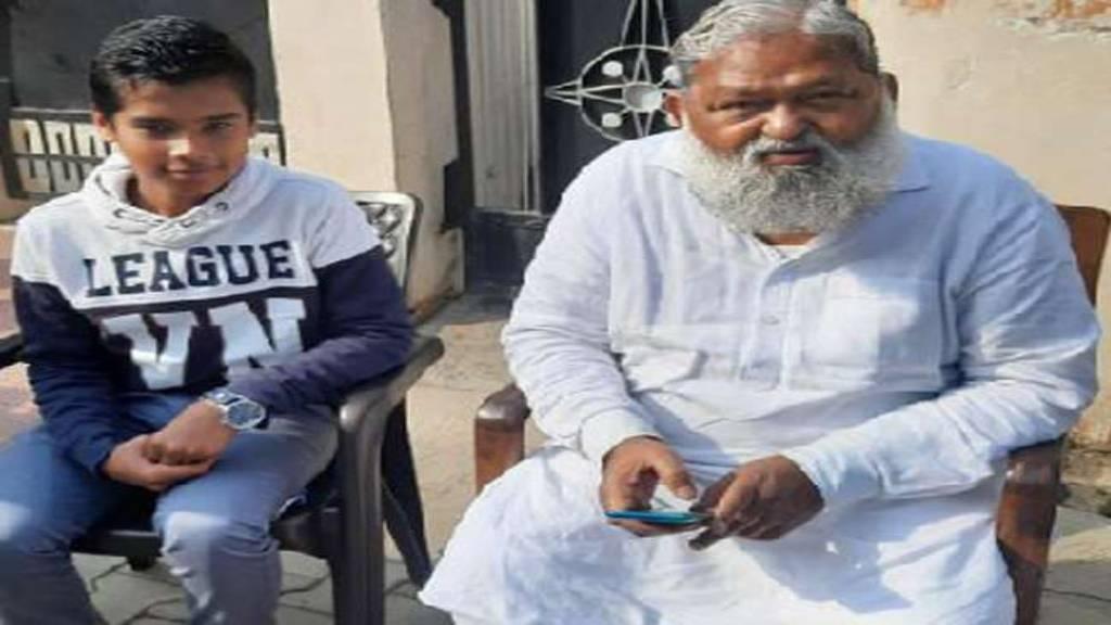 anil vij with hardhik