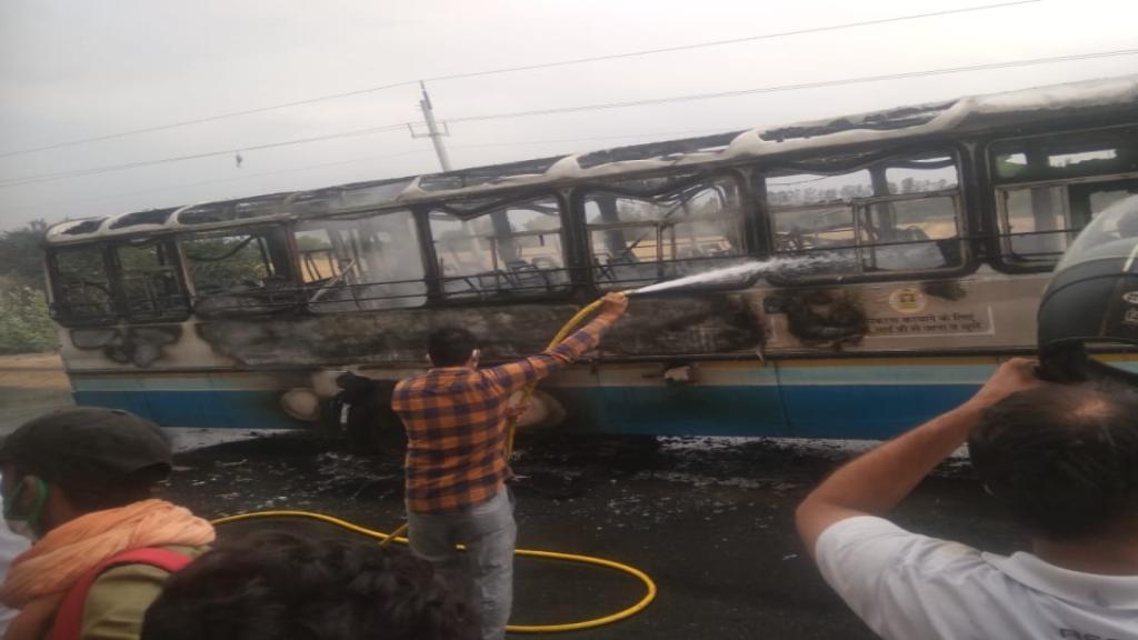 roadways bus accident sirsa